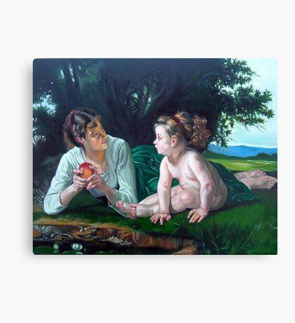 Temptation After W. Bouguereau Canvas Print