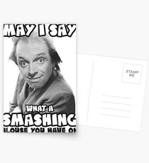 Rik Mayall - May i say what a smashing blouse you have on Postcards