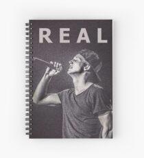NF Real Music Notebook Spiral Notebook
