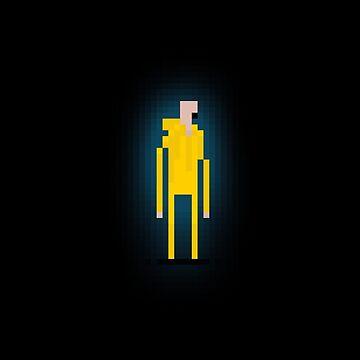 Heisenberg Pixel Art Video Game by udesignstudio