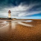 Talacre Lighthouse by Adrian Evans