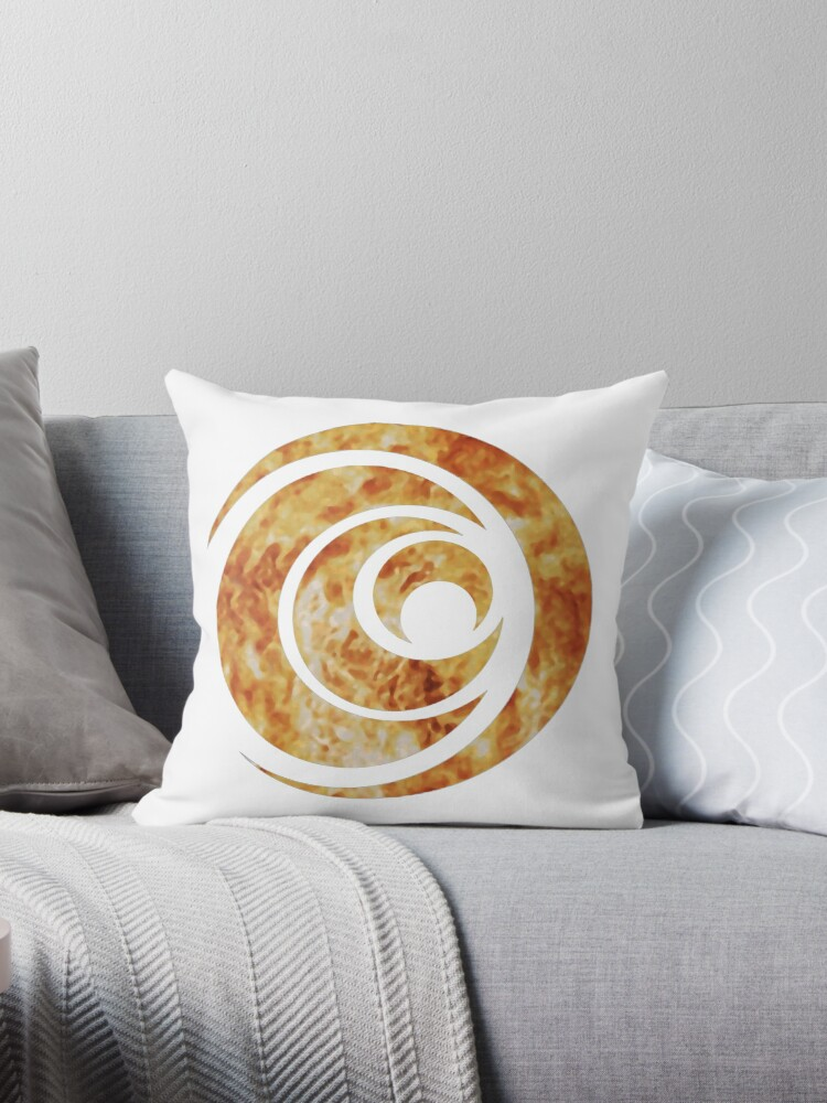 I Am Number Four Symbol Throw Pillows By Courageous Redbubble