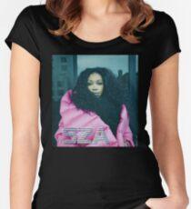 SZA (Ctrl) TDE Women's Fitted Scoop T-Shirt