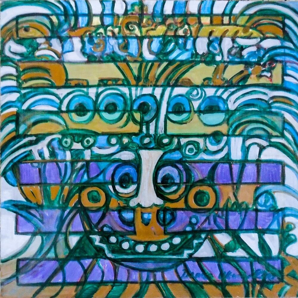 Hexagram 42: Yì  (Increase) by Denise Weaver Ross