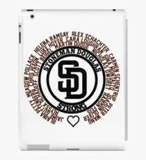 Douglas Strong Victim Names May they Rest In Peace iPad Case/Skin