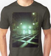 Grid city streets Hasselblad square medium format analogue film photograph Unisex T-Shirt