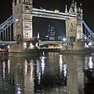 Tower Bridge reflections by Jeanne Horak-Druiff