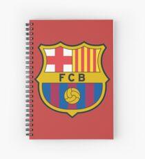 FC Barcelona Spiral Notebook
