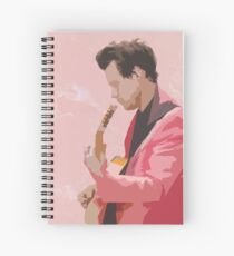 Harry Styles Spiral Notebook