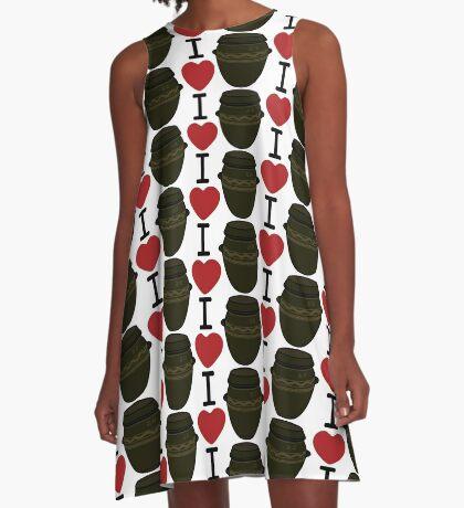 I Lubba Kimchi Third Culture Series A-Line Dress