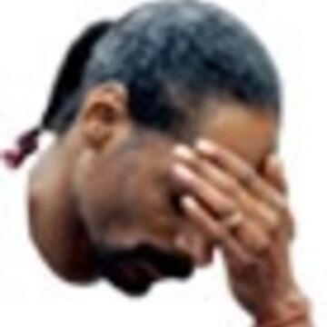 KTT snoop Snoop Dogg Facepalm Sticker by AClanOfNoStans