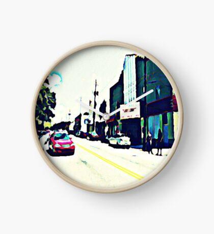 Street Scene No. 1 Clock