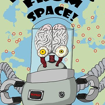 Brains from Space by RowynGolde