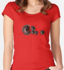 Speaker of the house... Women's Fitted Scoop T-Shirt