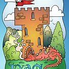 Tyans Dragon items by SassyColouring