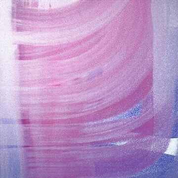 Pink Swirl Abstract by BettyMackey
