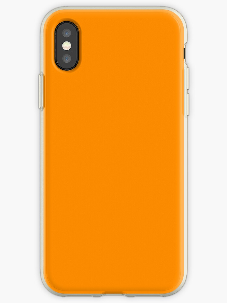 info for 38d21 9c7b2 'PANTONE 15-1164 TCX Bright Marigold' iPhone Case by Princesseuh