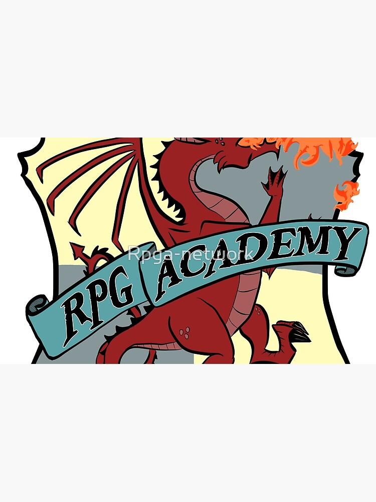 The RPG Academy Podcast logo by Rpga-network