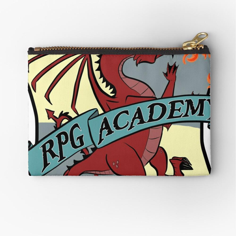 The RPG Academy Podcast logo Zipper Pouch