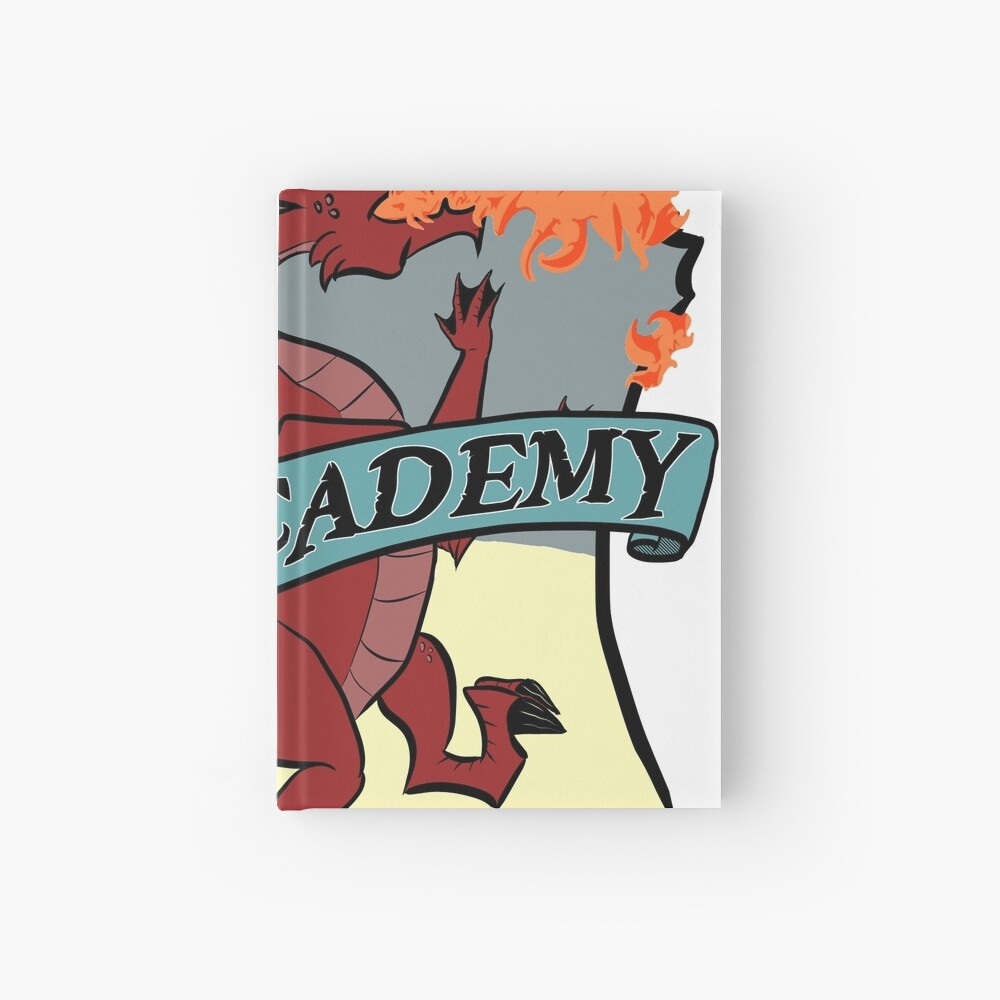 The RPG Academy Podcast logo Hardcover Journal
