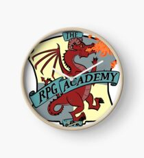 The RPG Academy Podcast logo Clock