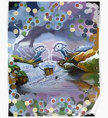 Duck Mountain and Nature eye Poster