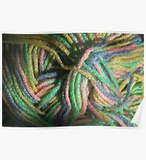 Multicolored Yarn Poster