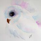 Li'l Snowy Owl by Pat Yager