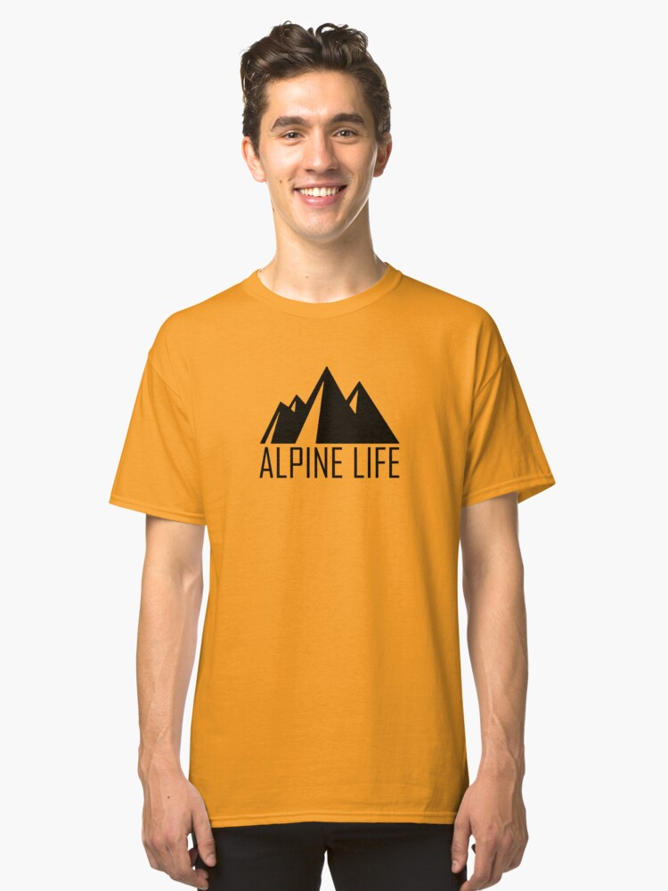 Alpine Life Classic T-Shirt Front