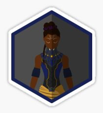 Shuri Character Icon Fanart Sticker