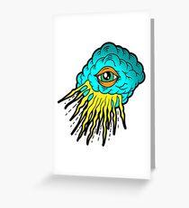 Illuminati JackPot Illustration Design Greeting Card