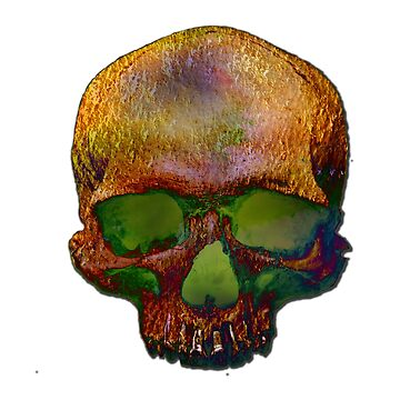 Psychedelic Skull by diana2266