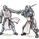 Knights Templar Training by SnakeArtist