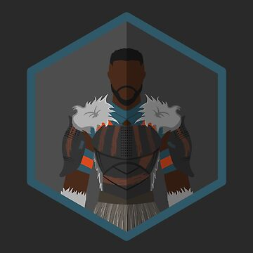 M'Baku Character Icon Fanart by TheLivingEthan