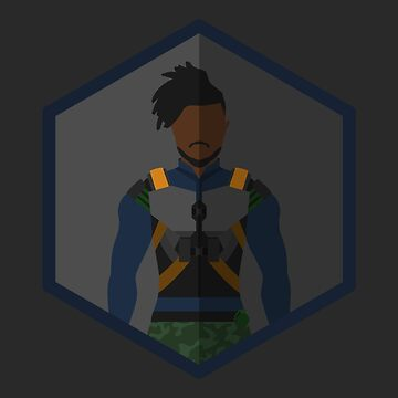 Killmonger Character Icon Fanart by TheLivingEthan