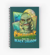 Kreatur aus der Black Lagoon Spiralblock