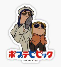 Popuko and Pipimi - Yakuza Sticker