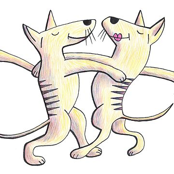 Thylacine as Ballroom Dancer by PaulWebster