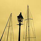 Harbor Light by Barbara Gerstner
