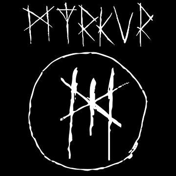 Myrkur Black Circle by reyboot