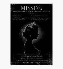 MISSING! Photographic Print