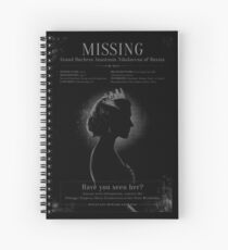 MISSING! Spiral Notebook