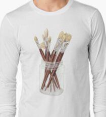 Brushes Long Sleeve T-Shirt