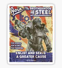 Affiche de propagande de la fraternité Sticker