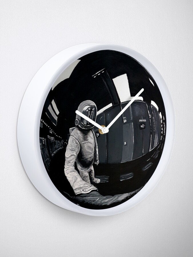 Alternate view of Inside Story - Circle Style -  Sticker/ Shirt Clock