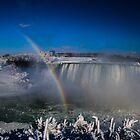 «cae brumoso arco iris» de Perggals© - Stacey Turner