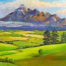 Beautiful Mt Barney  by Virginia McGowan