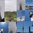 Sky Tower Auckland NZ by Tom McDonnell