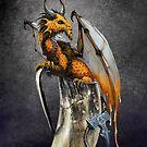 Mead Dragon  by Stanley Morrison