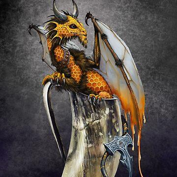 Mead Dragon  by SMorrisonArt